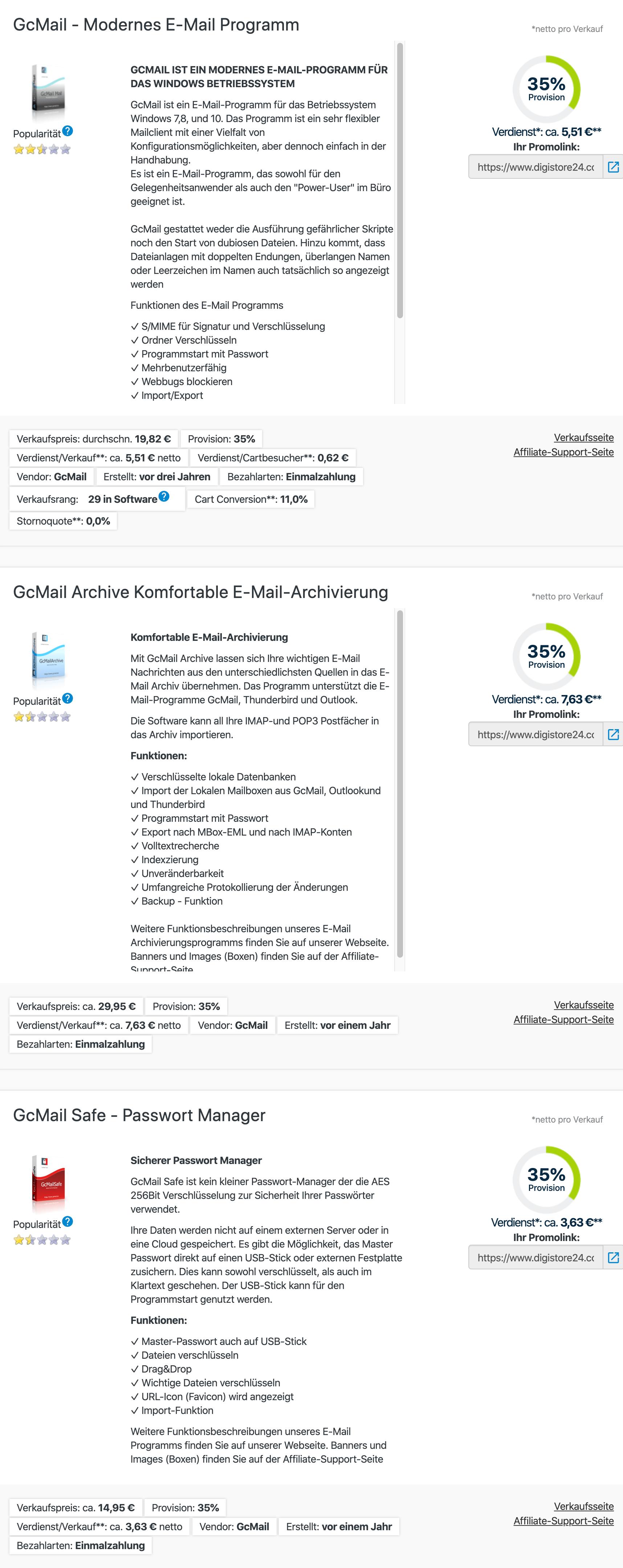 GcMailpartnerprogramm