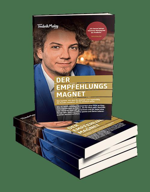 """Buch """"Der Empfehlungsmagnet"""