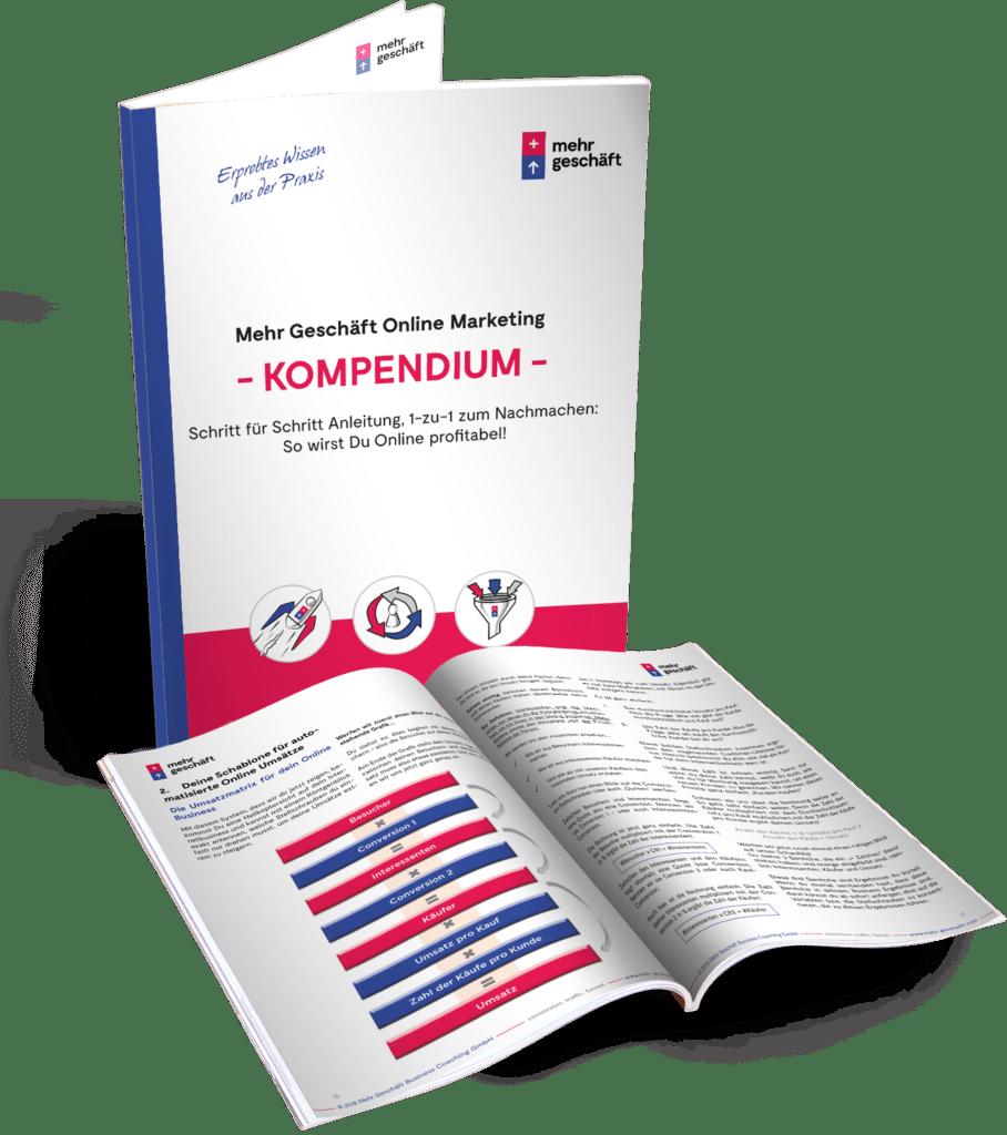 """Das """"Mehr Geschäft Online Marketing Kompendium"""""""