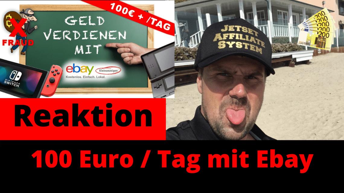 100 Euro Tag mit Ebay Kleinanzeigen verdienen