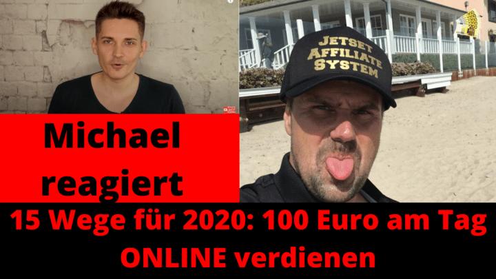 100 Euro am Tag ONLINE verdienen ohne Startkapital