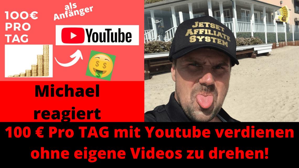 100 euro Pro TAG mit Youtube verdienen ohne eigene Videos zu drehen