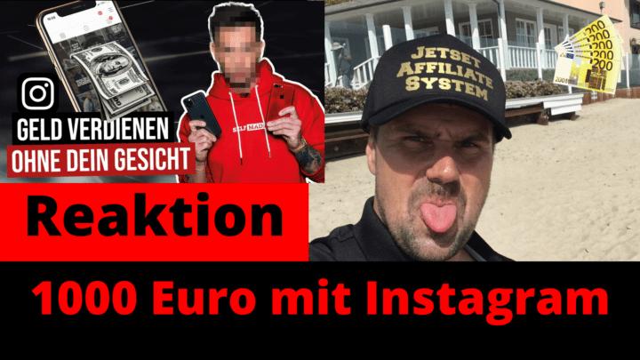 1000 Euro mit Instagram 2020 verdienen