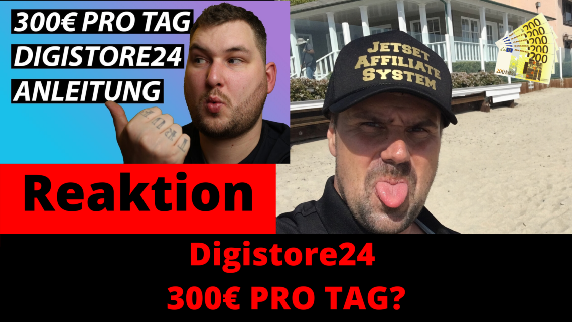 Digistore24 2020 Affiliate Anleitung 300 euro PRO TAG