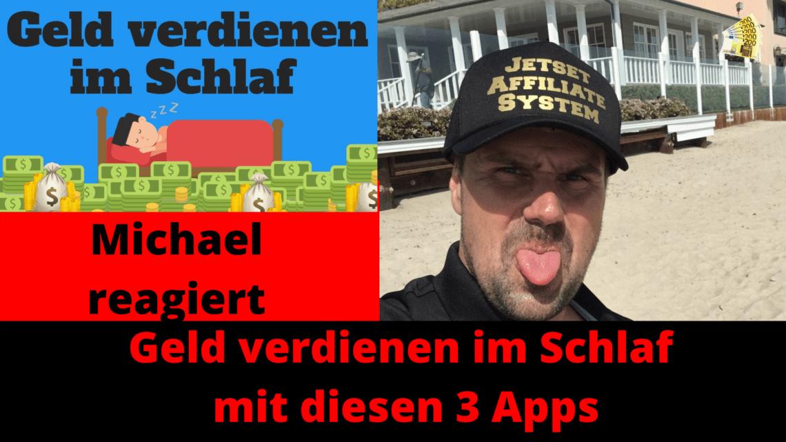 Geld verdienen im Schlaf mit diesen 3 Apps
