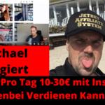 Wie DU pro Tag 10-30€ mit Instagram Nebenbei Verdienen Kannst!