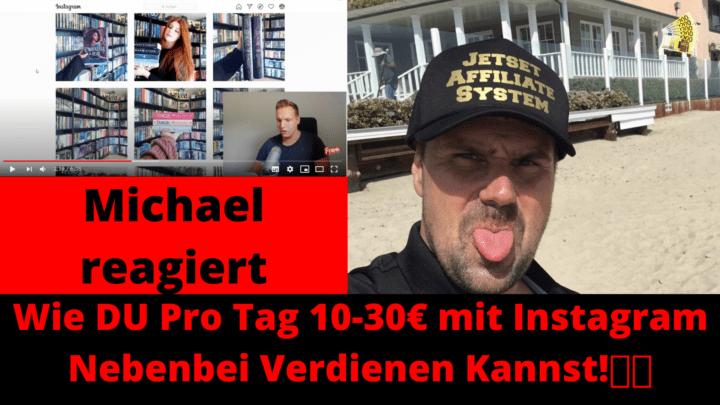 Wie DU pro Tag 10 30€ mit Instagram Nebenbei Verdienen Kannst