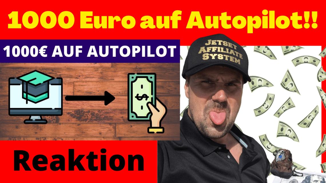 1000 Euro im Monat auf Autopilot