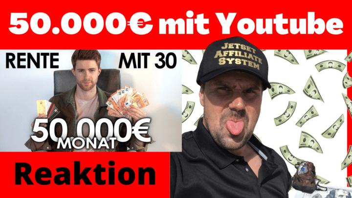 50.000€ im Monat mit Youtube