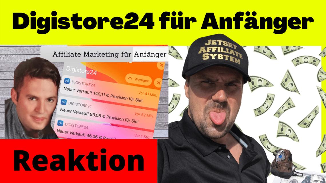 Digistore24 affiliate anleitung