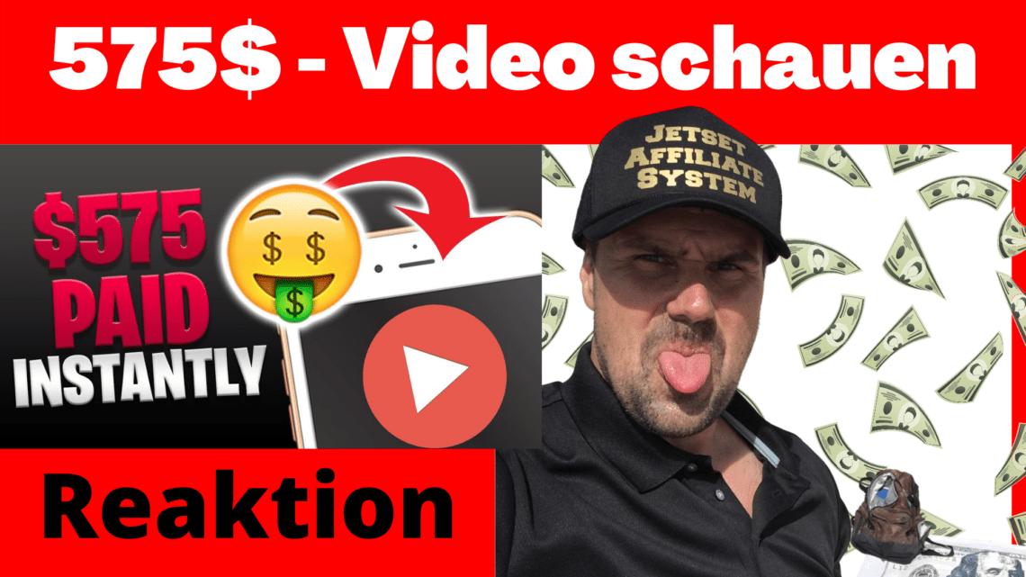 Geld verdienen einfach nur durch Videos schauen