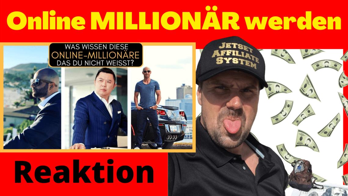 Online MILLIONÄR werden
