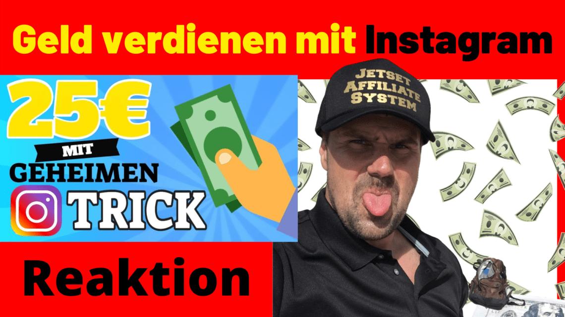 25euro verdienen mit geheimen Instagram Trick