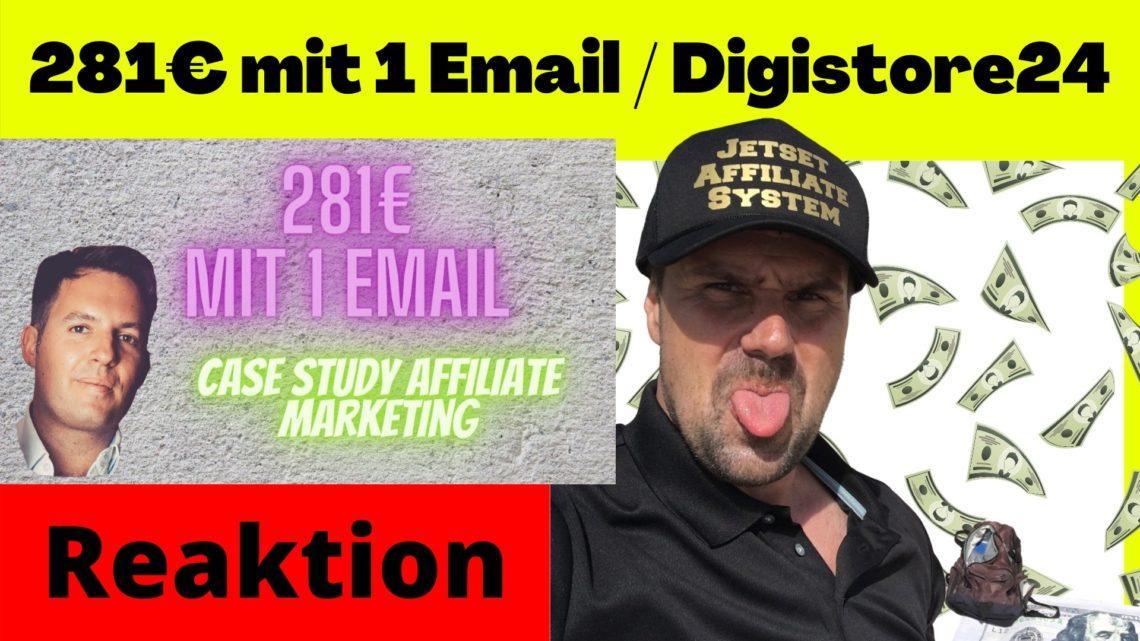 281EURO mit 1 Email Digistore24