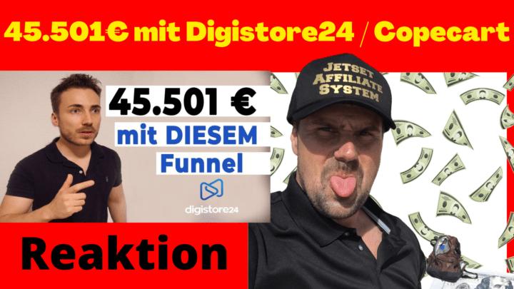 45.501 mit Digistore24 Copecart