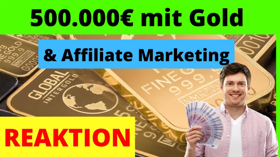 500 000 Euro mit Affiliate Marketing