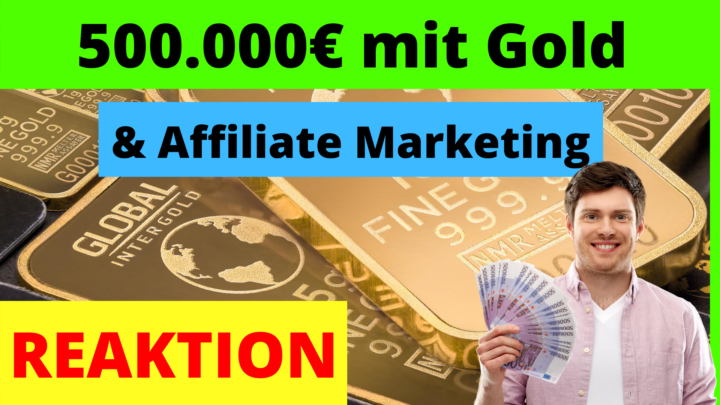 500 000 Euro mit Affiliate Marketing