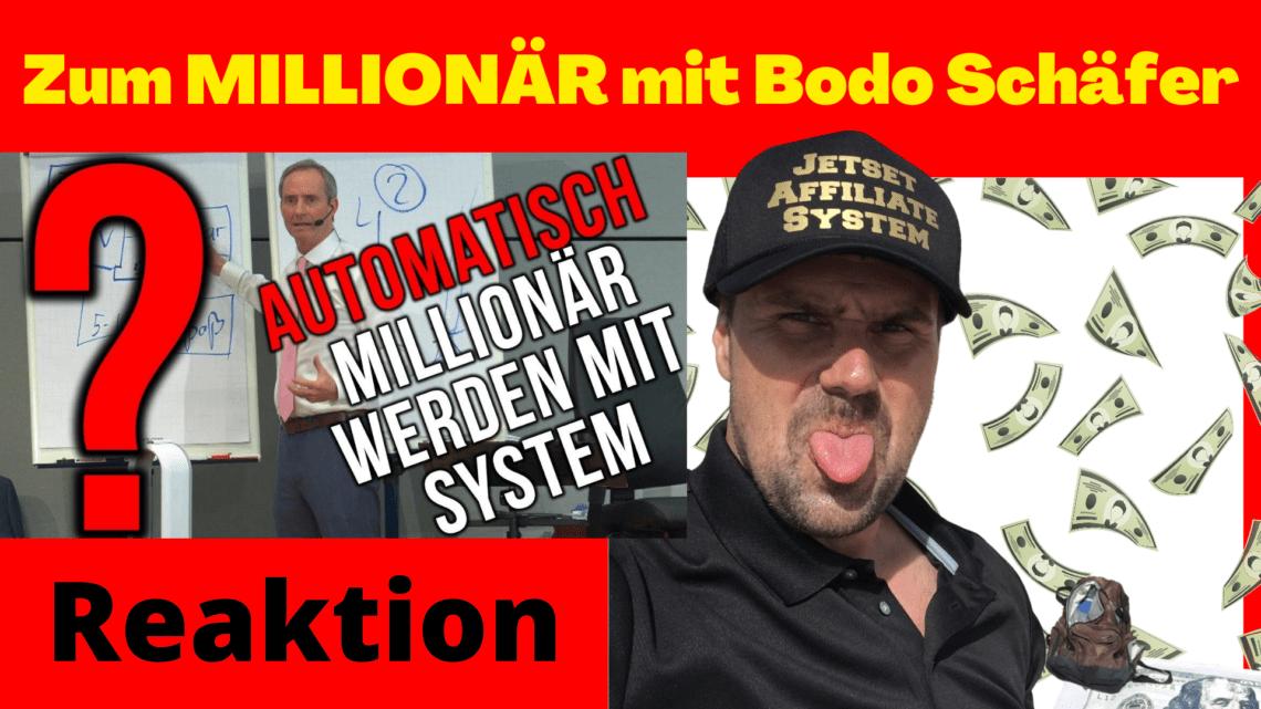 Automatisch zum MILLIONÄR mit Bodo Schäfer