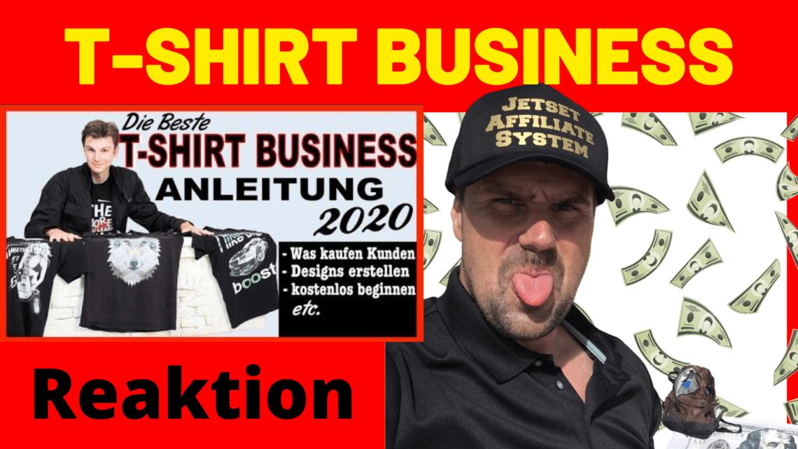 T SHIRT BUSINESS aufbauen