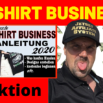 T-SHIRT BUSINESS aufbauen 2020