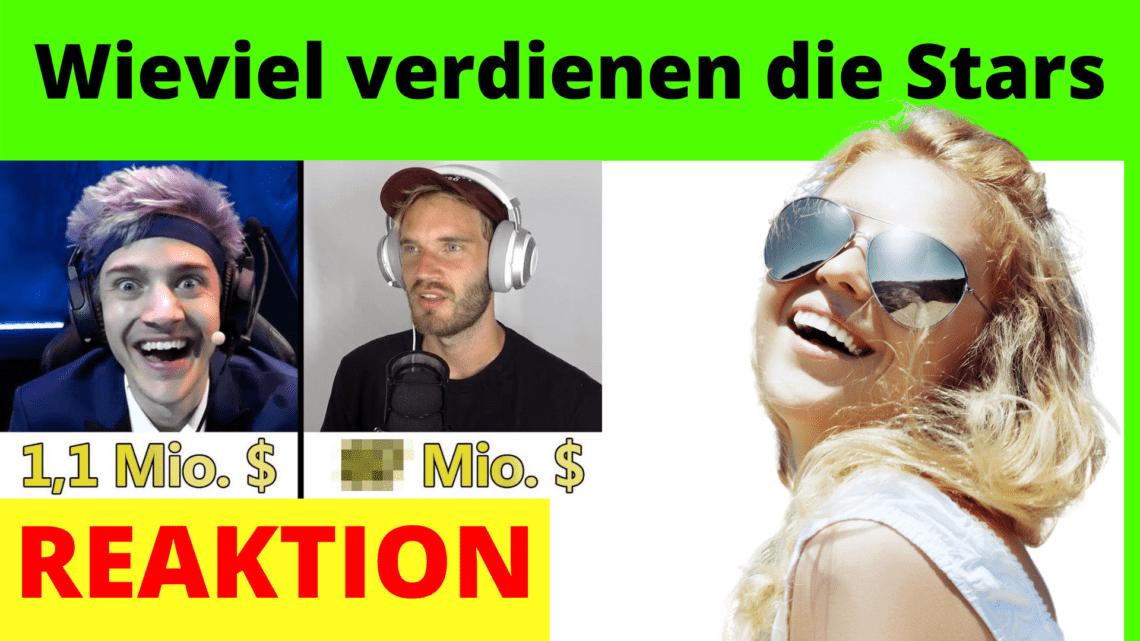 Wieviel verdienen die Stars auf Youtube Twitch und Instagram im Monat