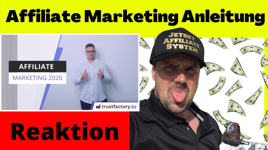 affiliate marketing anleitung