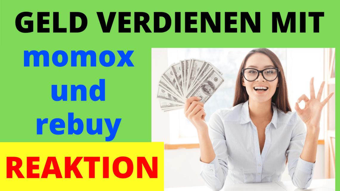 geld verdienen mit momox und rebuy