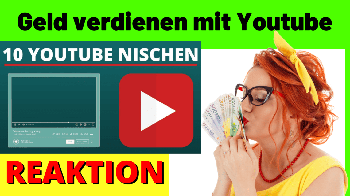 Geld verdiene Youtube