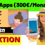 Im Schlaf Geld verdienen mit diesen 4 Apps / Handy (300€/Monat)