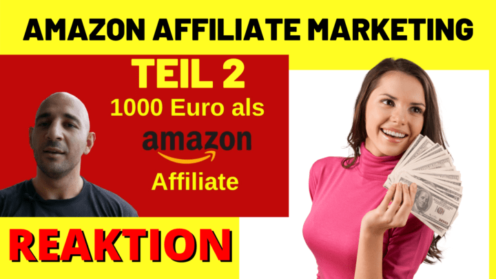 AMAZON AFFILIATE MARKETING teil2