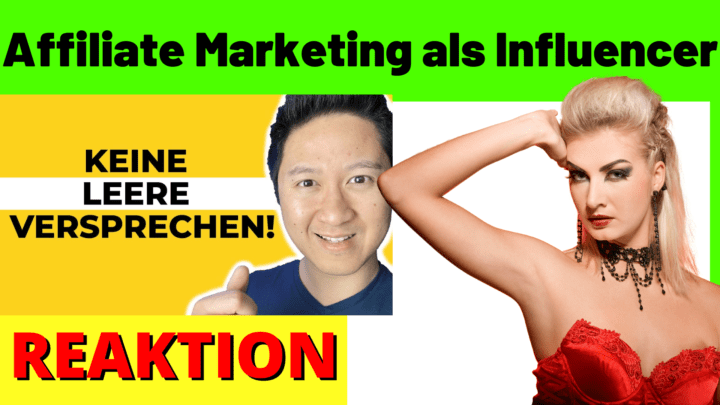 Affiliate Marketing als Influencer
