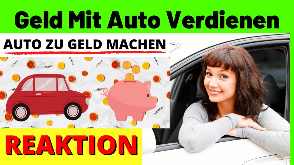 Geld Mit Auto Verdienen