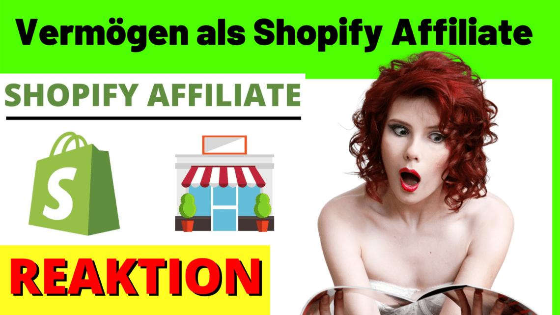 Geld verdienen als Shopify Affiliate