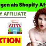 Geld verdienen als Shopify Affiliate - Shopify Partnerprogramm
