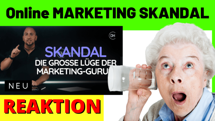 Online MARKETING SKANDAL