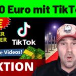 100 Euro mit TikTok Geld verdienen ohne Erfahrung (Komplette Strategie Digistore24)