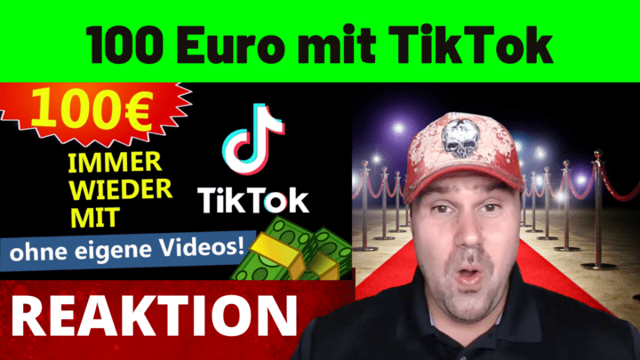 100 Euro mit TikTok