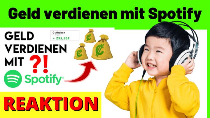 Geld verdienen mit Spotify