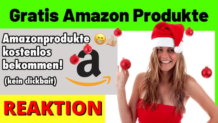 Gratis Amazon Produkte