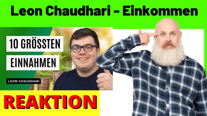 Leon Chaudhari Einkommen