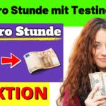 50€ pro Stunde verdienen mit TestingTime