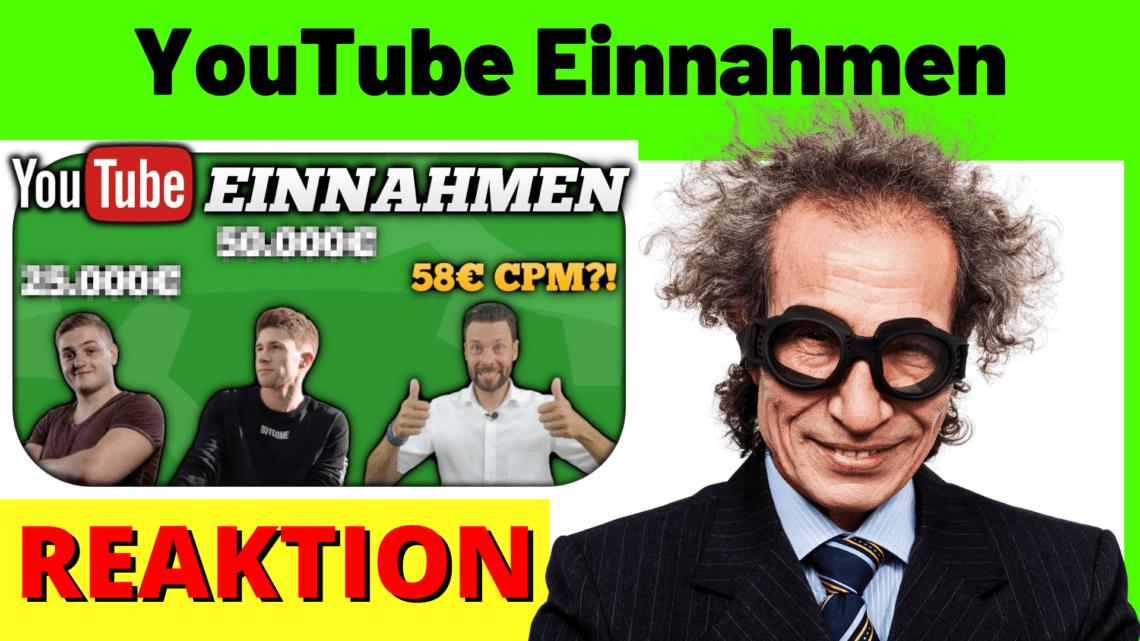 YouTube Einnahmen 2021