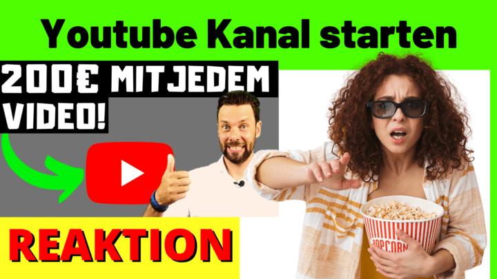 Youtube Kanal starten