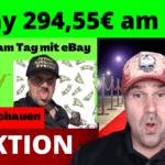 Geld verdienen mit eBay 294,55€ am Tag - eBay Partnerprogramm deutsch