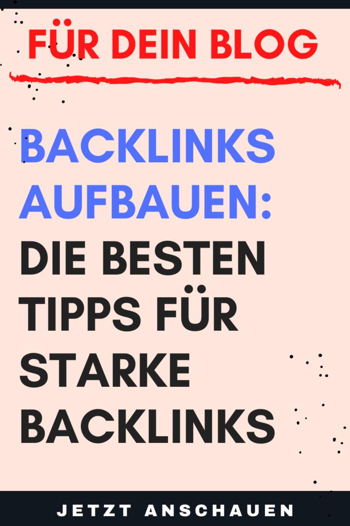 Backlinks aufbauen Die besten Tipps für starke Backlinks