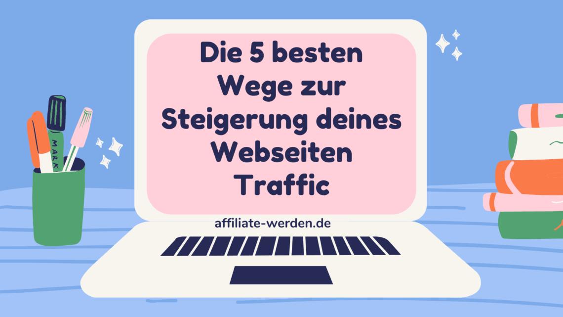 Webseiten Traffic steigern