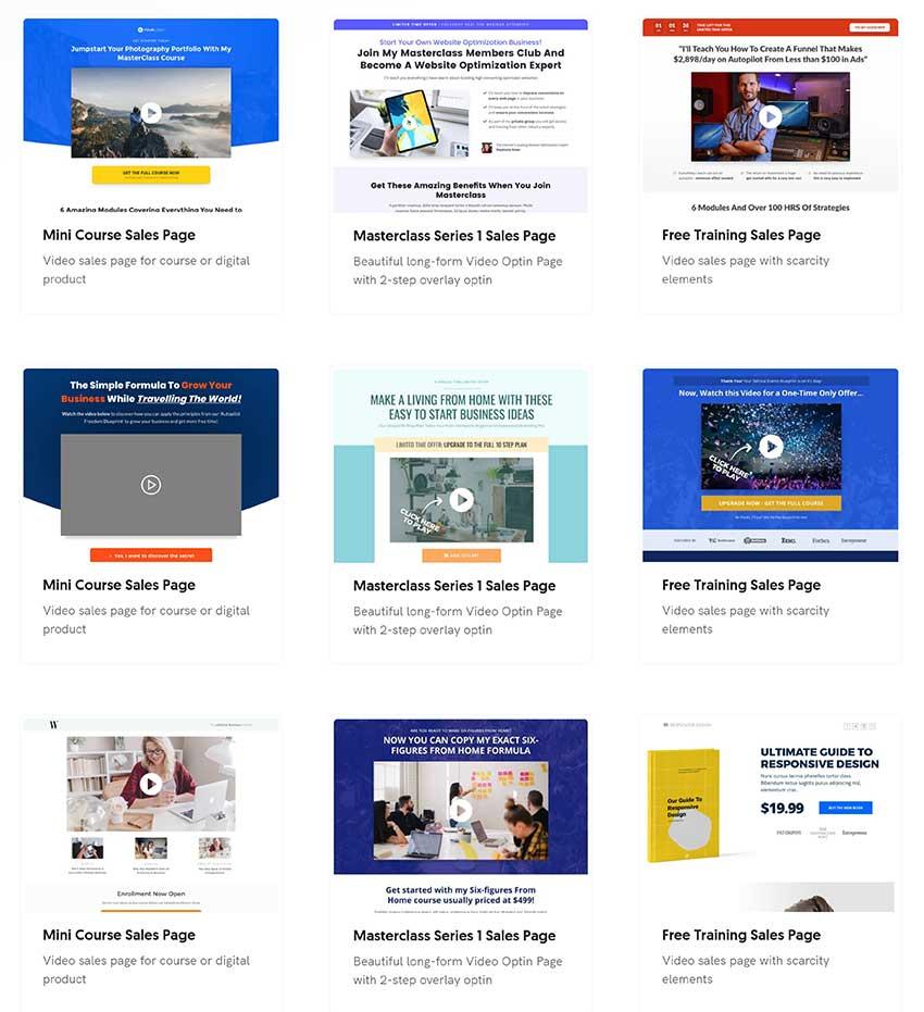 optimizepress sales page templates