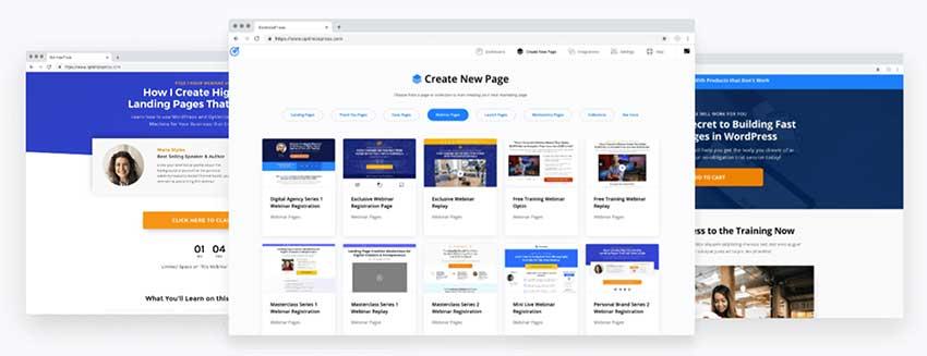 optimizepress wordpress plugin preview